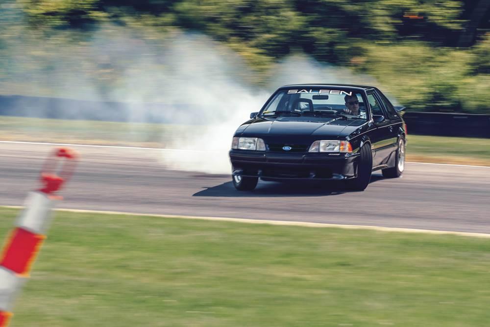 Sandon Voelker 1989 Saleen Mustang