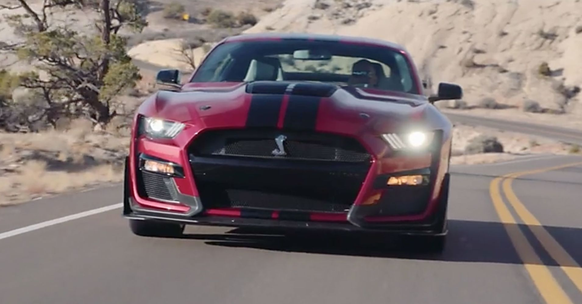 Source: Ford 2020 Mustang Shelby GT500