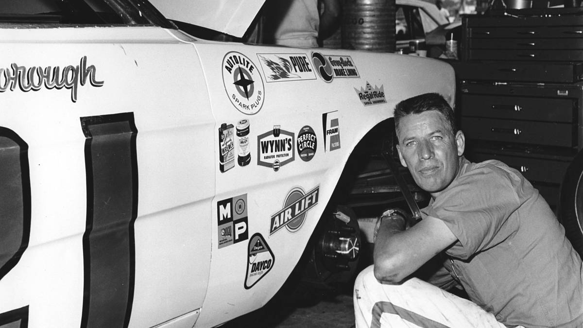 NASCAR Hall-of-Famer Glen Wood, co-founder of Wood Brothers Racing team, died at the age of 93. PHOTO BY ISC ARCHIVES VIA GETTY IMAGES