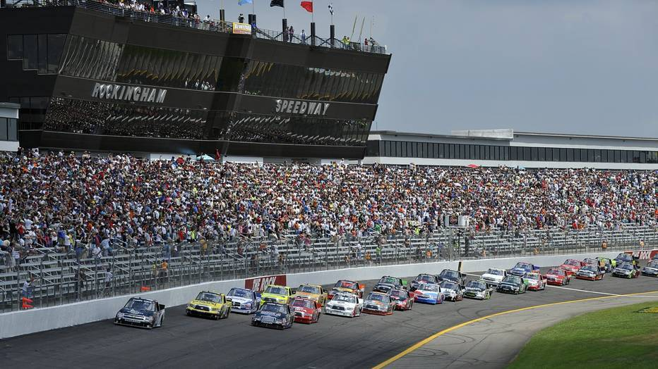North Carolina Gov. Roy Cooper has proposed a state-funded package to resuscitate Rockingham Speedway. PHOTO BY GETTY IMAGES FOR NASCAR