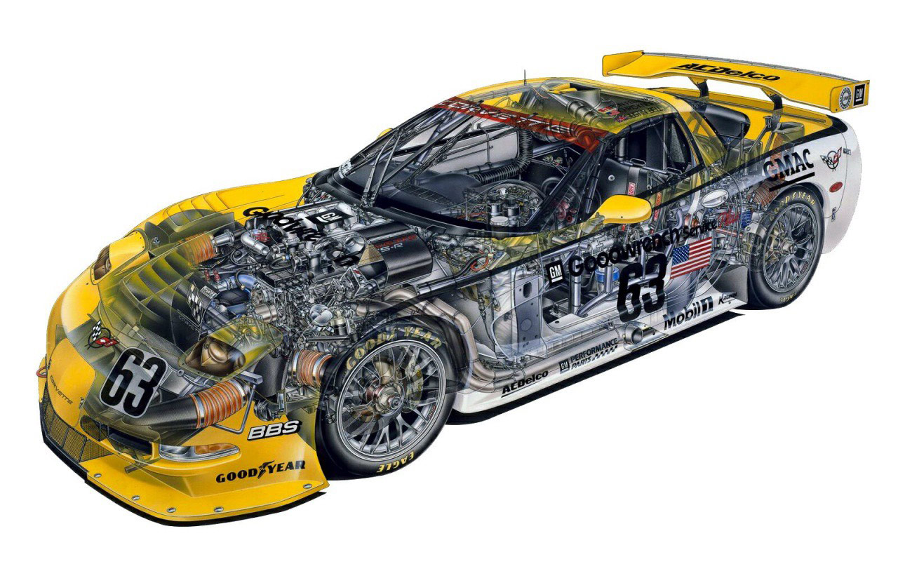 Photo courtesy of Cutaway Drawings
