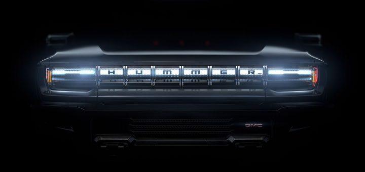 GMC Hummer EV teaser