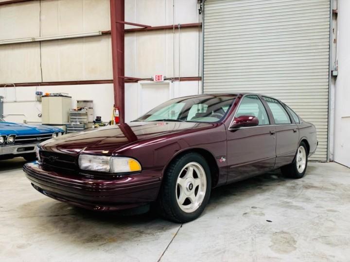 1996 Impala SS in Dark Cherry Metallic