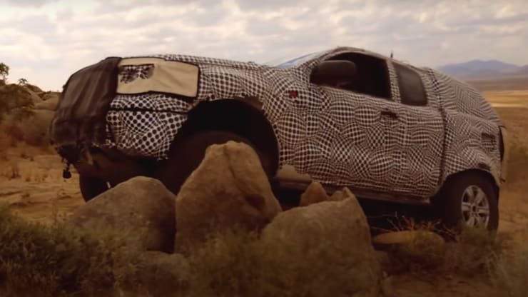 Ford released a video of a prototype of the new Bronco SUV off-road testing in January. Ford