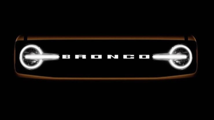 Ford recently teased this image of the front of its new Ford Bronco on social media ahead of the vehicle's debut. Ford
