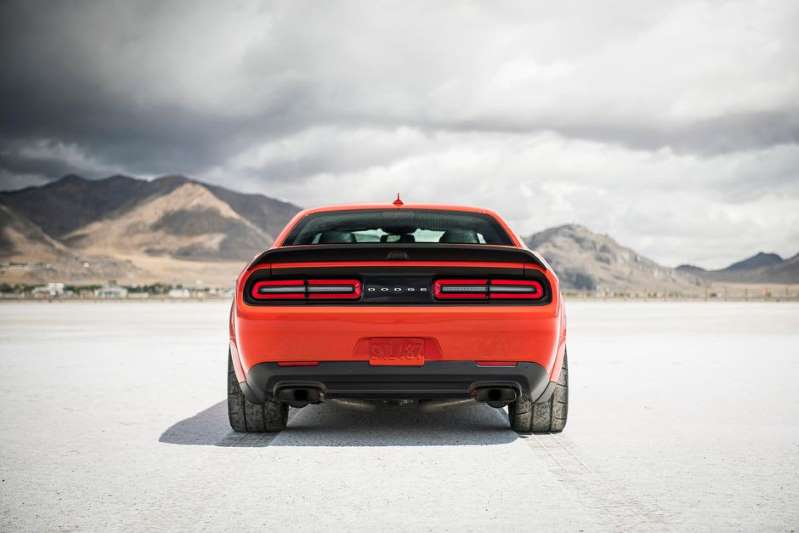 © Provided by Roadshow See you at the drag strip. Dodge