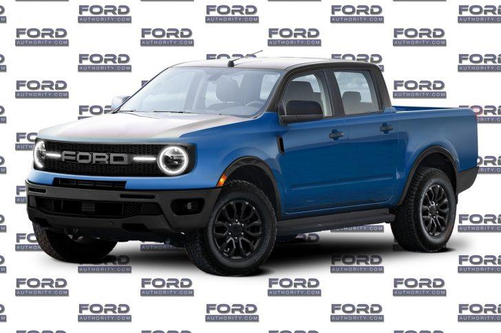 Ford Maverick Rendering