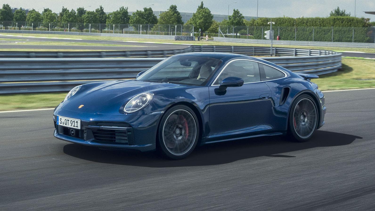 2021 Porsche 911 Turbo - Image Credit: Porsche