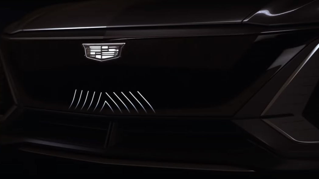 Cadillac Lyriq teaser - Image Credit: Cadillac