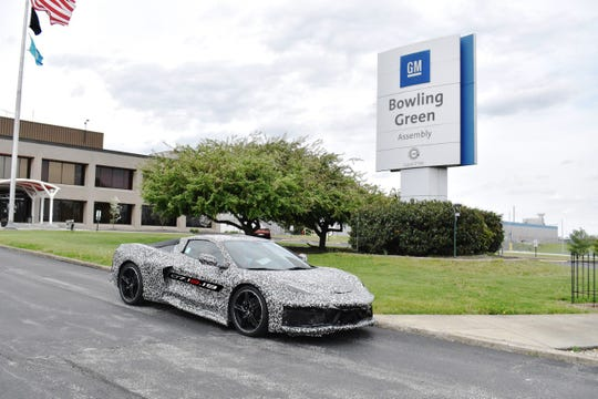 General Motors Bowling Green (Kentucky) Assembly plant builds the Next Generation Corvette, which will be revealed on July 18, 2019. (Photo: Courtesy/General Motors)