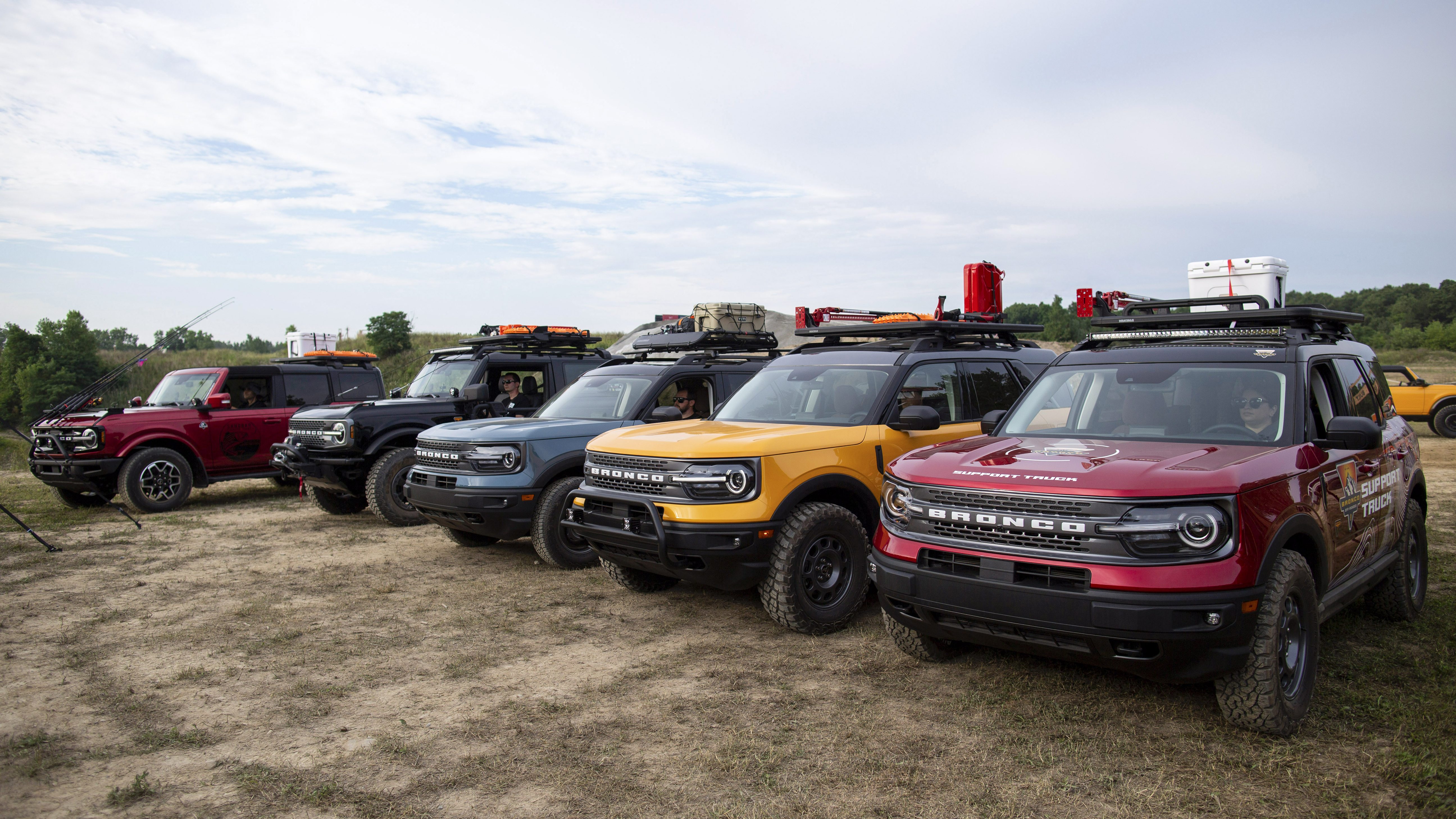 Ford Bronco and Bronco Sport 'adventure concepts'