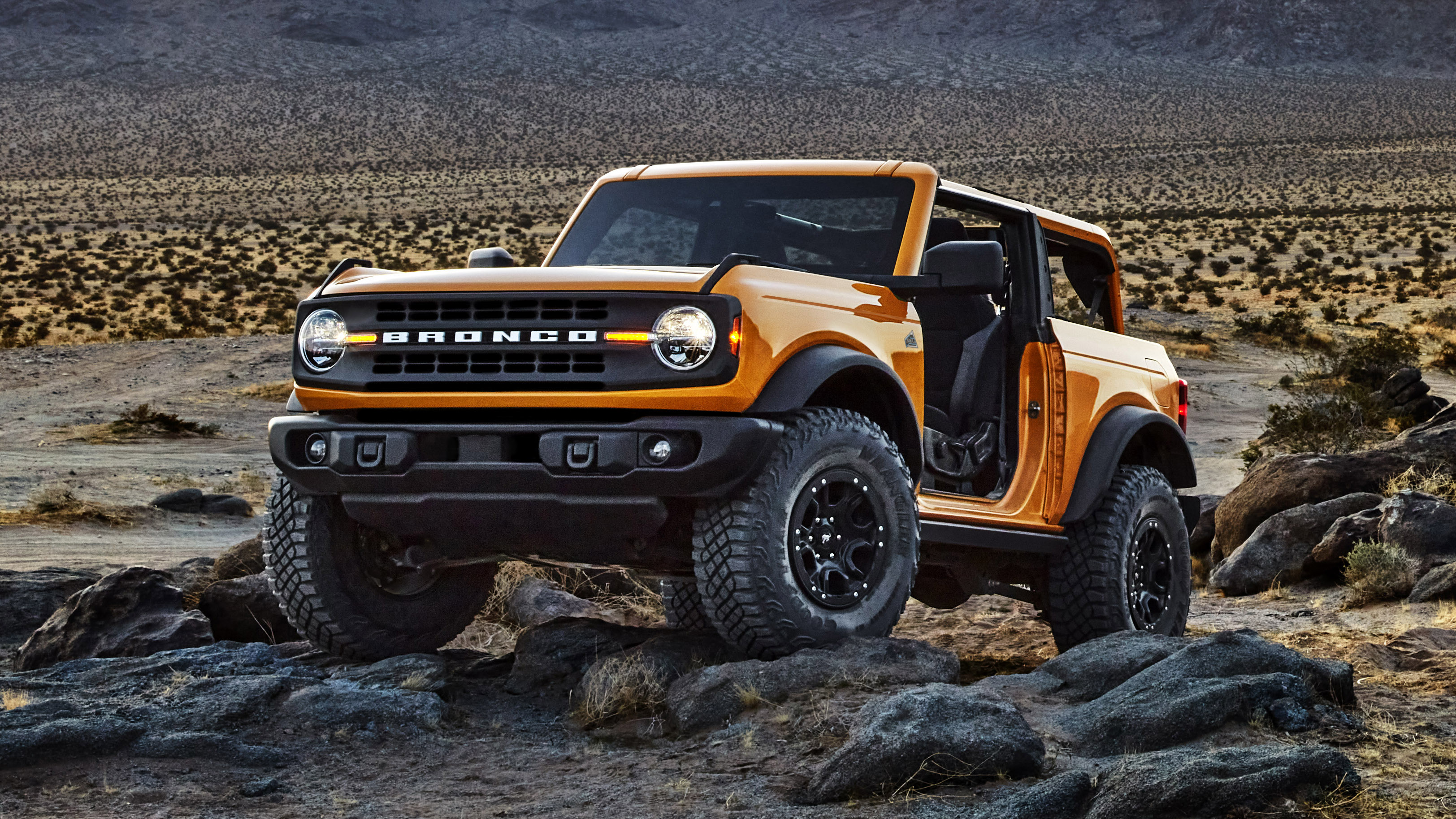2021 Ford Bronco 2-Door - Image Credit: Ford