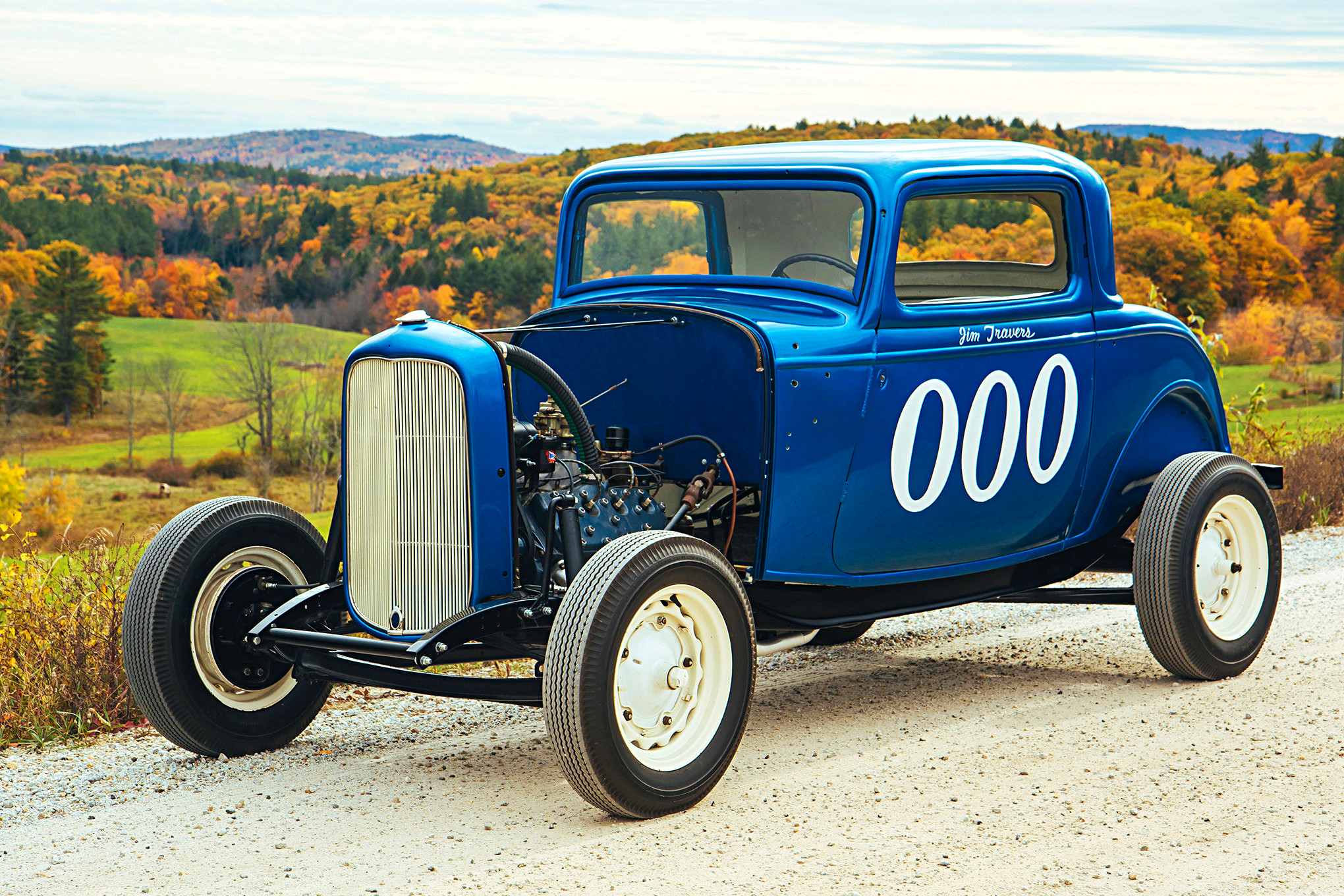 His Battered old Relic Turned out to be a 1932 Ford 3-Window Coupe ...