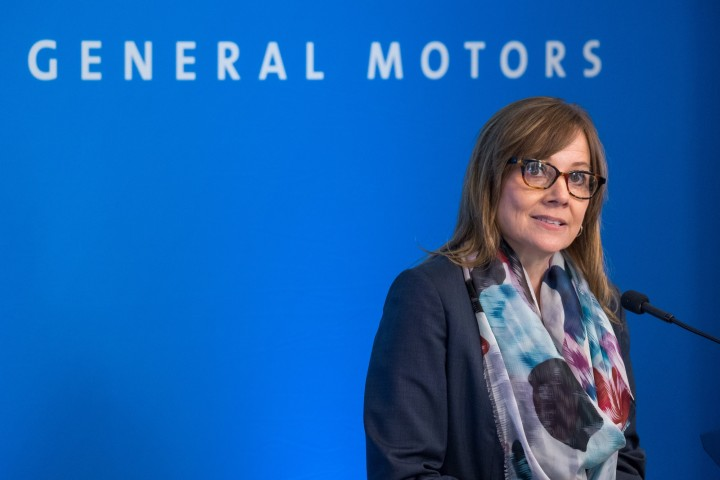 Mary Barra in 2018