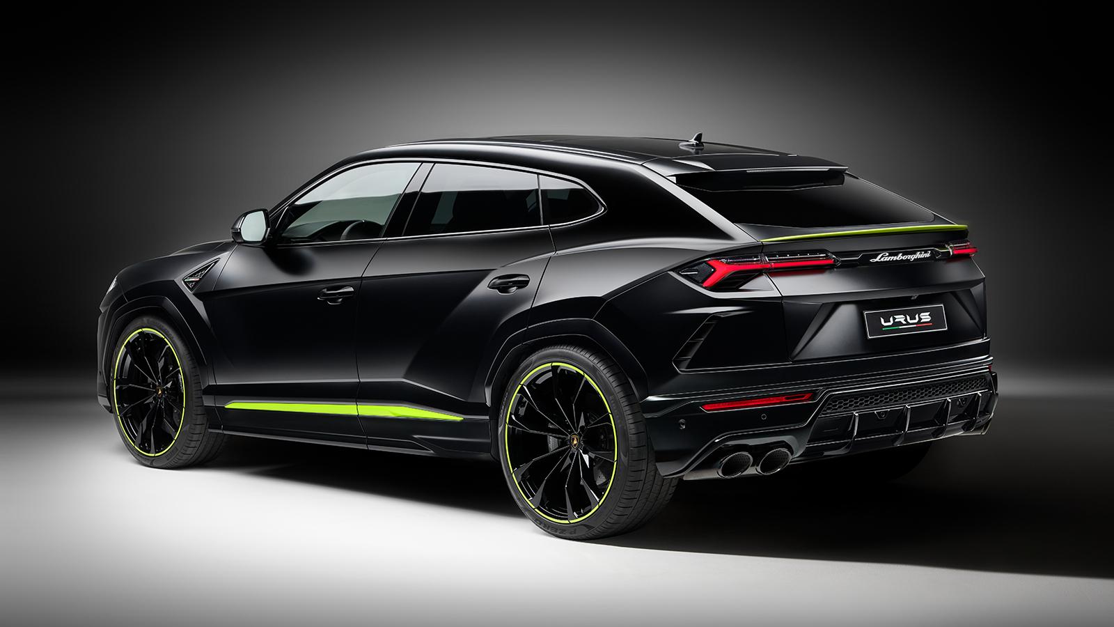2021 Lamborghini Urus Graphite Capsule -- Image Credit: Lamborghini