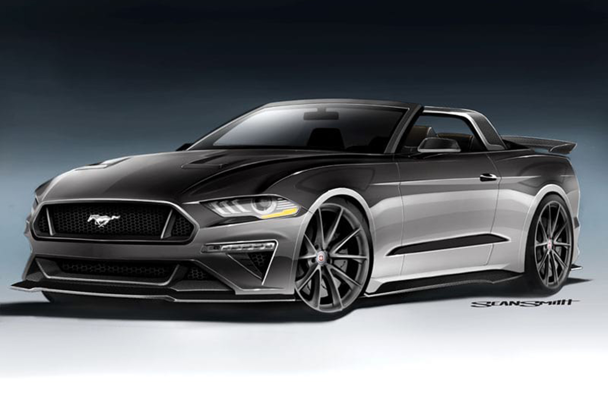 Speedkore Performance Groups Mustang GT Convertible Sports Carbon Fiber Aero Touches An Upgraded Suspension And Powertrain Enhancements To Its 50 Liter