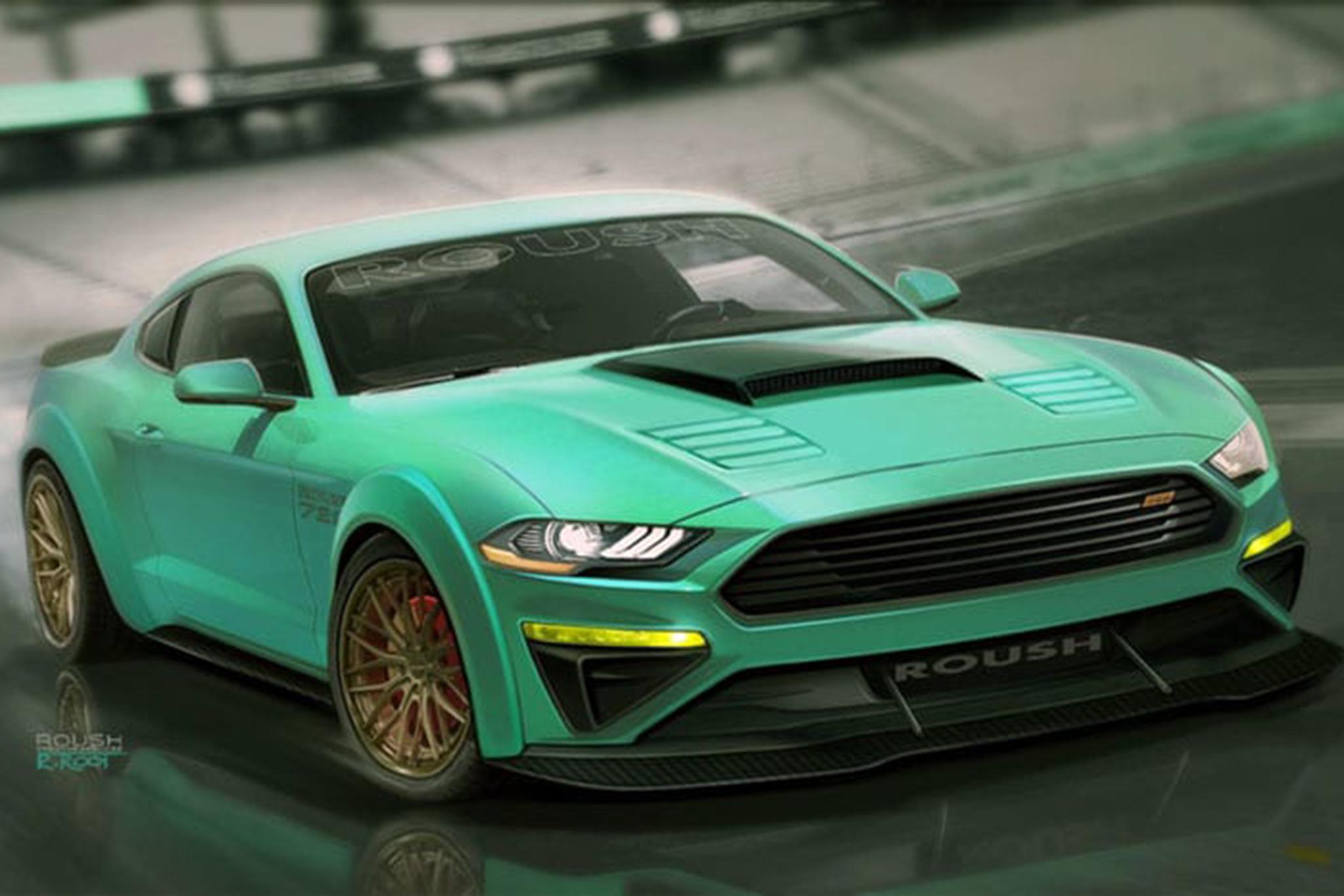 Ford Bringing Seven Mustang Show Cars To SEMA RK Motors - Cool cars mustang