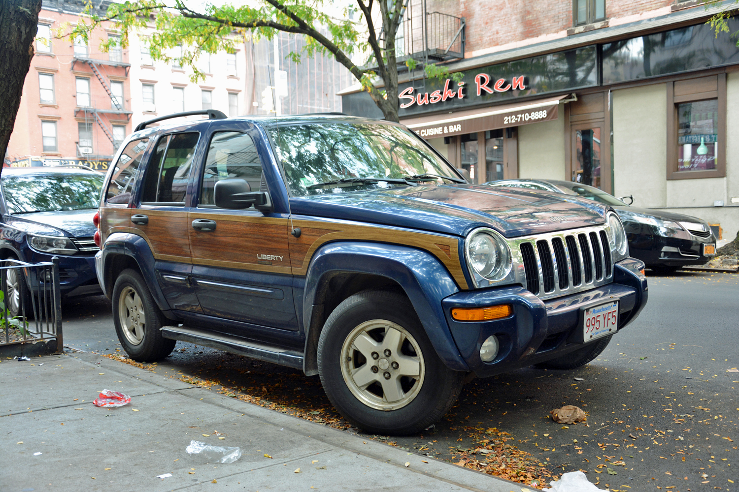 Jeep Liberty with the Wagoneer package -- Image Credit: Ronan Glon