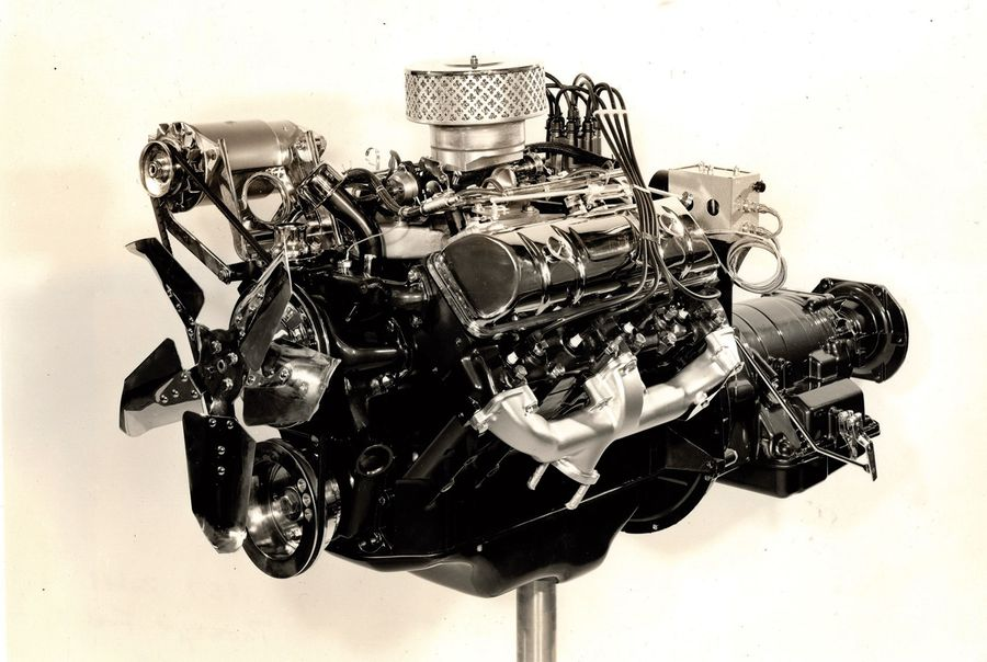 Until very recently, there were few images of the proposed AMC fuel-injected 327-cu.in. V-8, and no press photos. However, some months ago the author was able to acquire a small batch of press photos showing different views of what would have been a most remarkable engine. It's a shame it didn't make it to production.