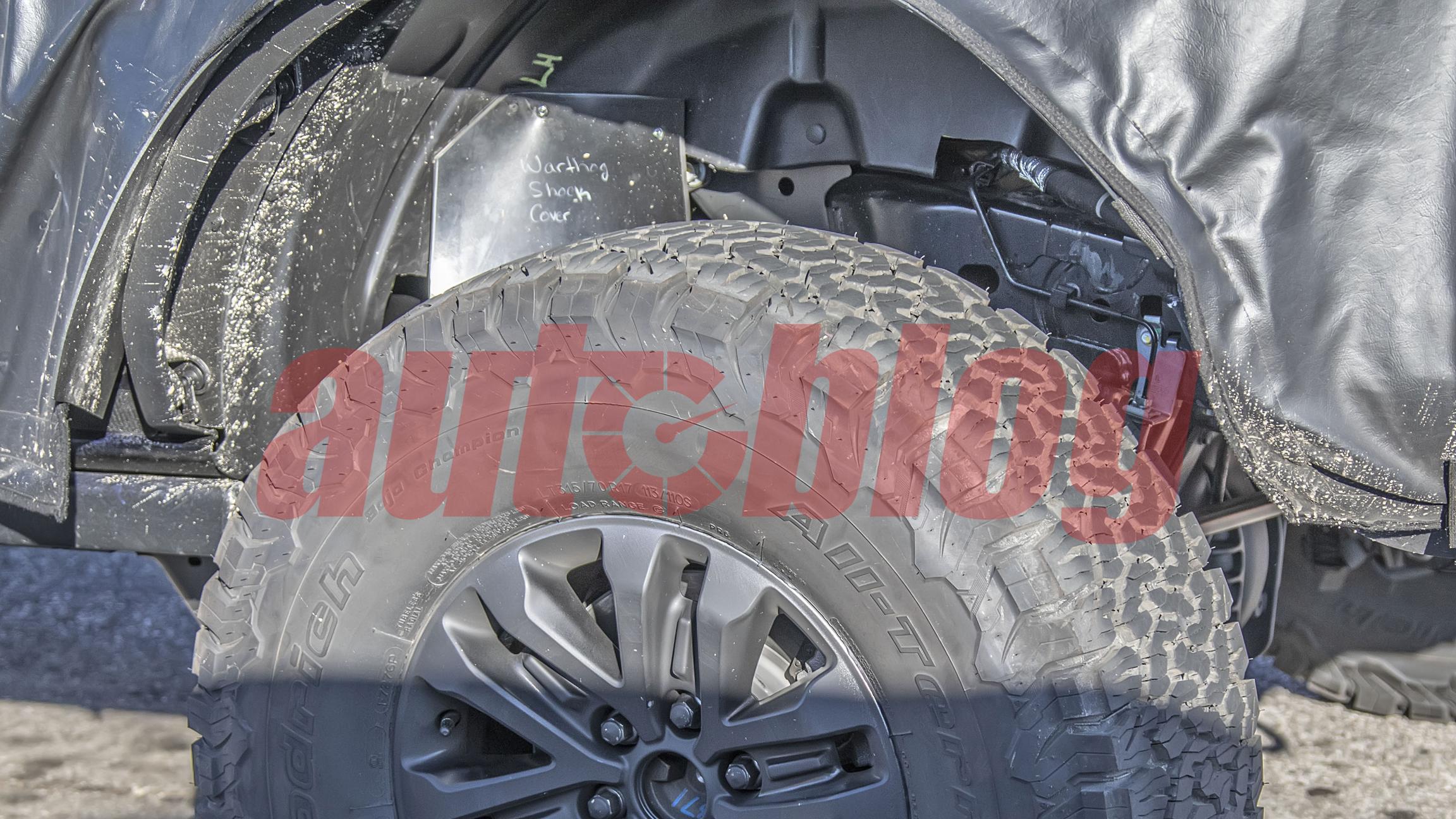 Ford Bronco Raptor Warthog - Image Credit: KGP Spy Photography