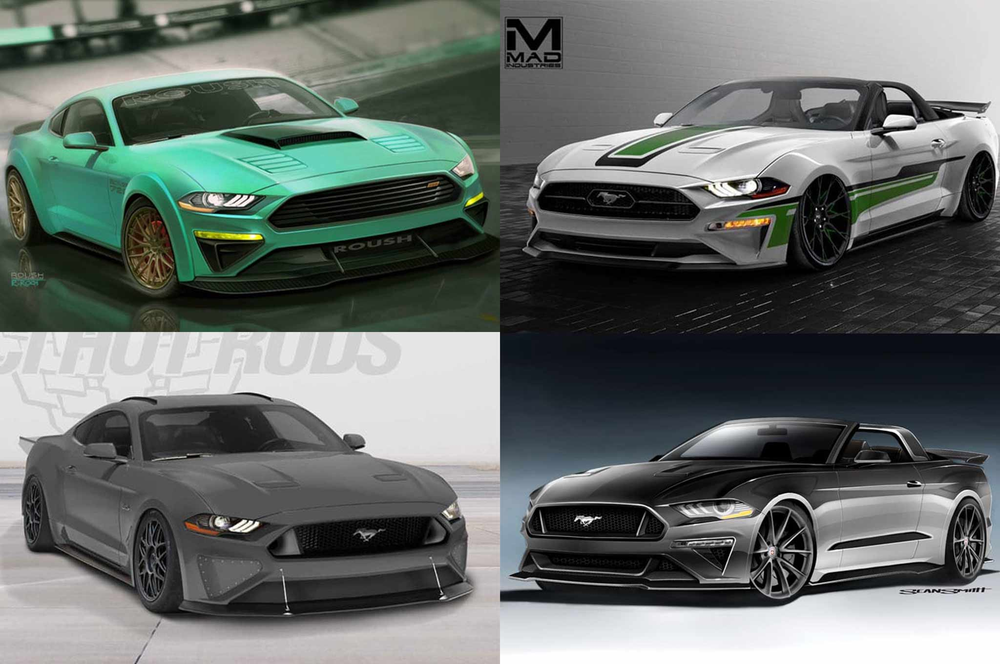 Nice Ford Bringing Seven 2018 Mustang Show Cars To SEMA Pictures Gallery