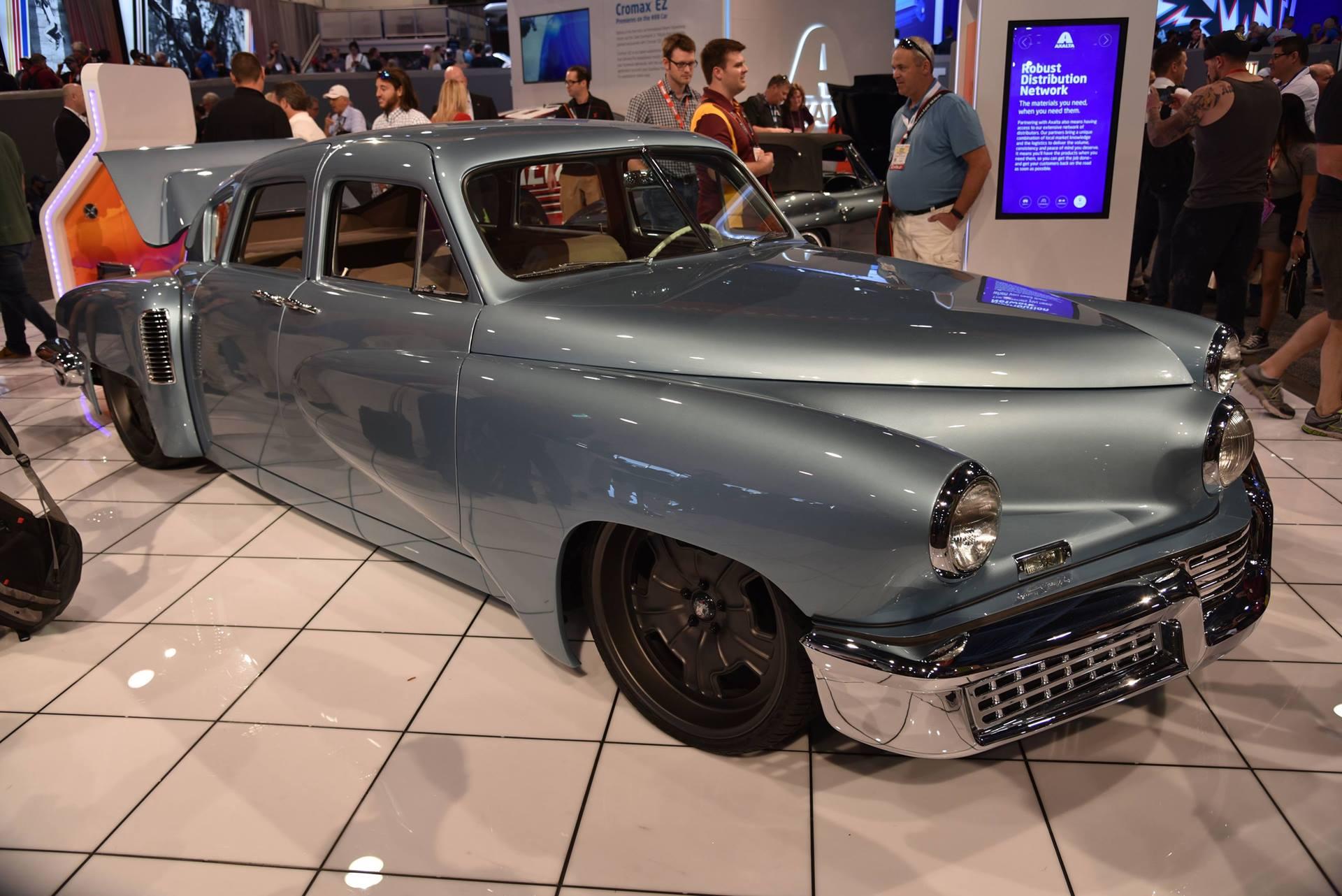 A new Tucker, true to the original, debuts at SEMA | RK Motors ...