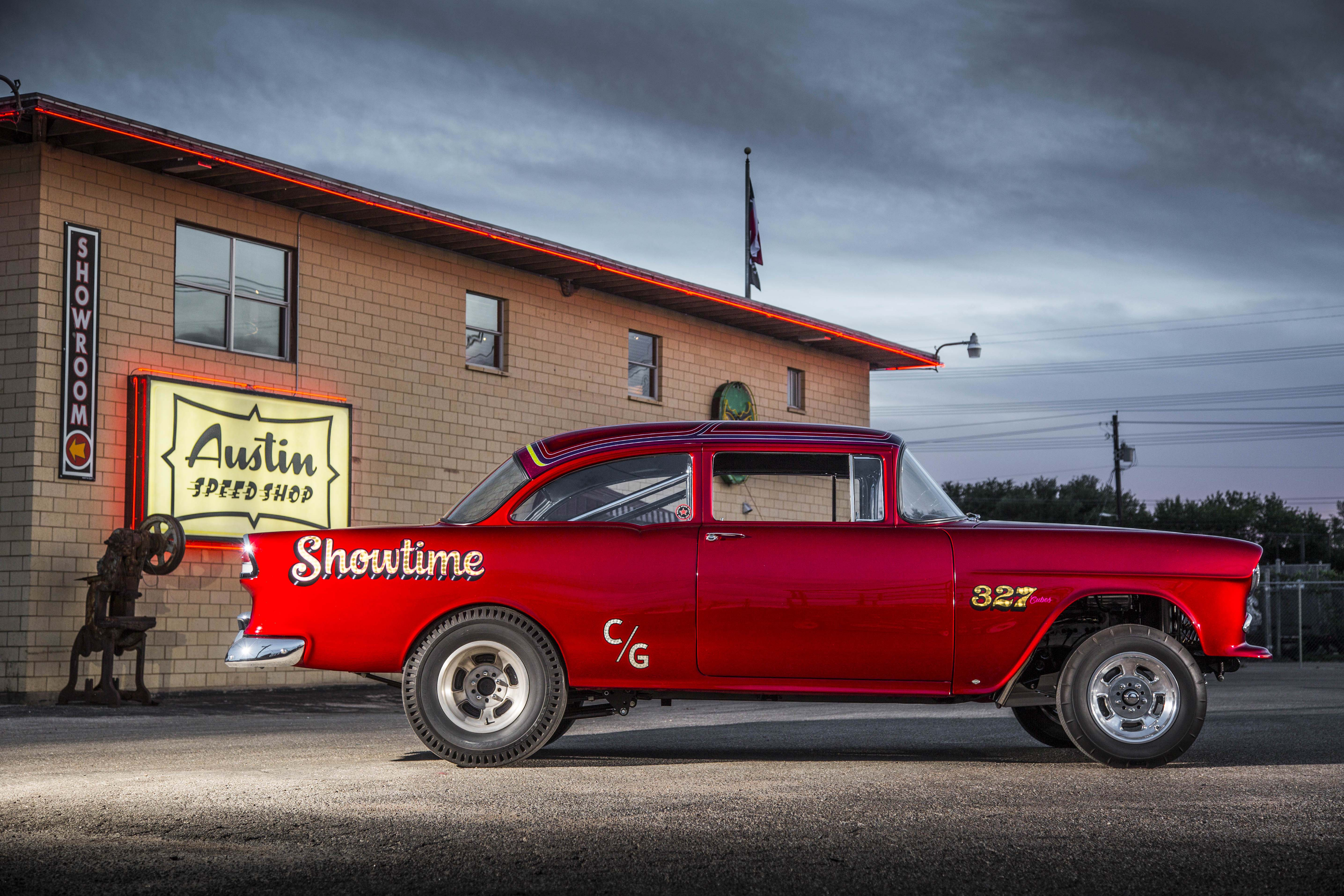 Showtime: Steven Boschma\'s 1955 Chevy Gasser | RK Motors Classic and ...