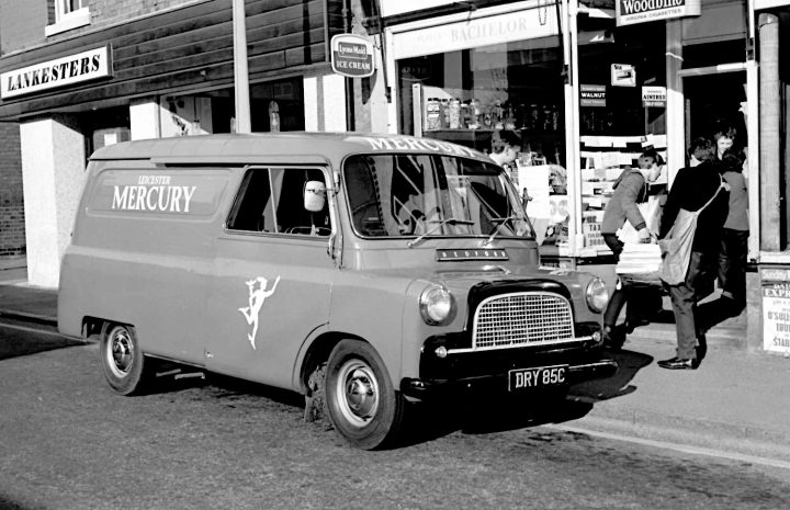 Bedford CA panel van