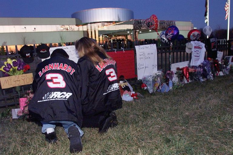 Many race fans can tell where they were when they heard Dale Earnhardt had died at Daytona International Speedway. ERIK PEREL GETTY IMAGES