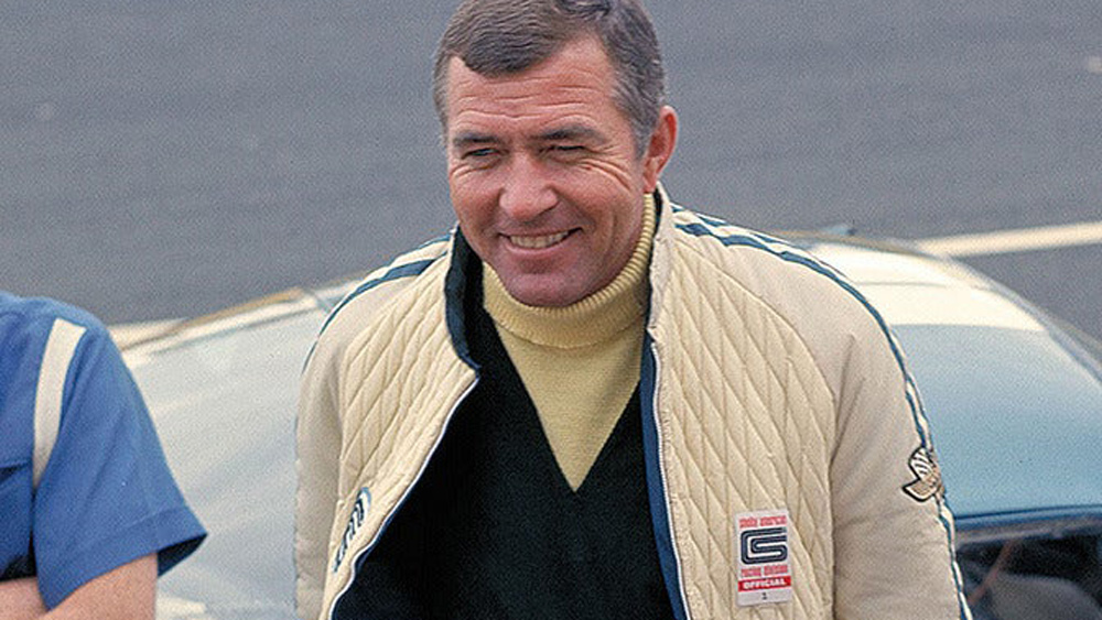 The one and only Carroll Shelby.  Photo: Courtesy of Original Venice Crew Apparel.