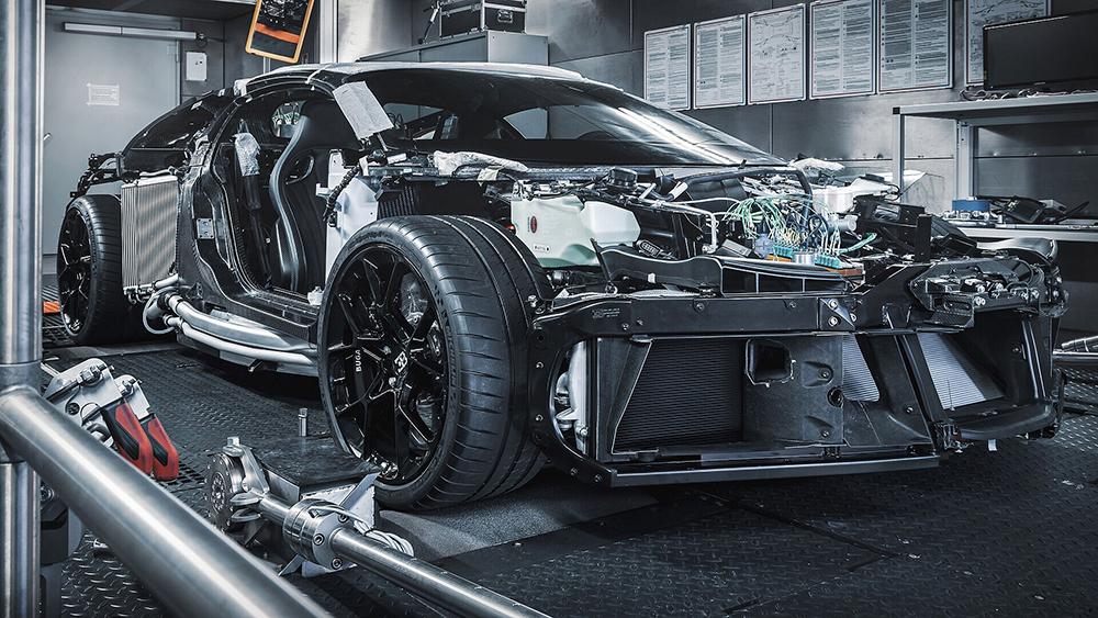 Bugatti expects the Centodieci will roll out next year.  Bugatti
