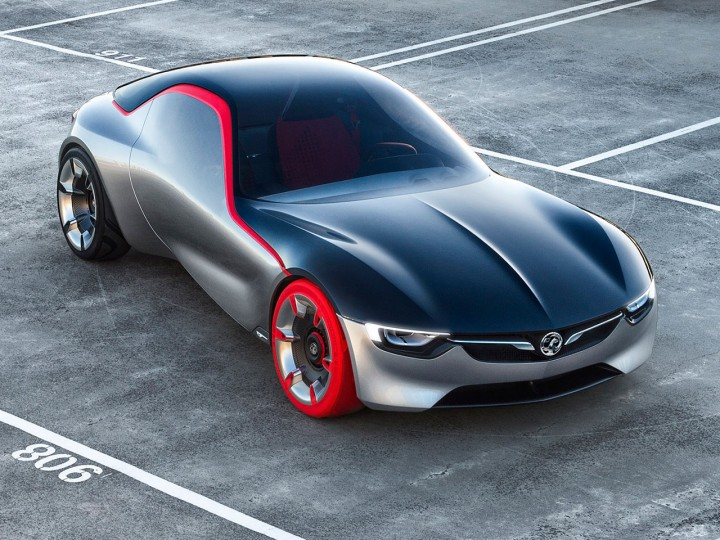 2016 Opel GT concept. Photo courtesy of Opel