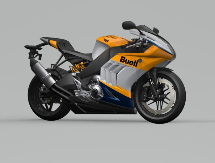 Another view of the 2021 Buell Hammerhead 1190RX. Image courtesy Buell Motorcycle.