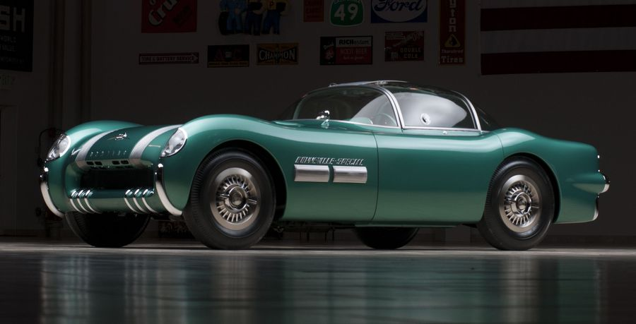 The Pontiac Bonneville Special number two. Photo courtesy Barrett-Jackson.