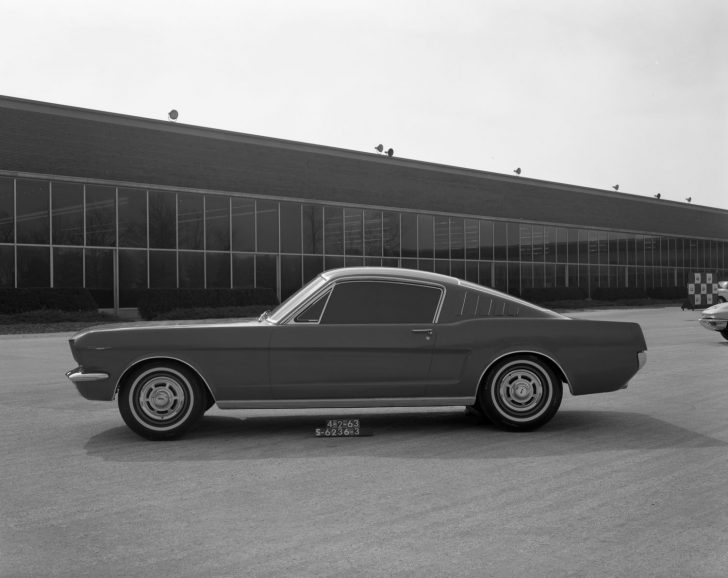 1963 Ford Mustang Fastback Clay Model