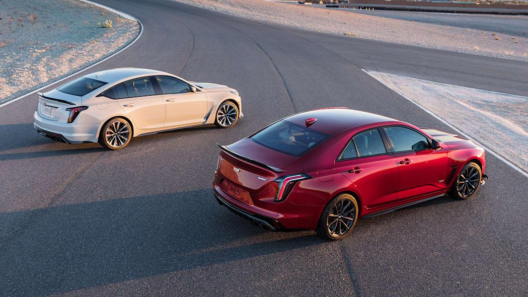 2022 Cadillac CT5-V Blackwing, CT4-V Blackwing Image Credit: Cadillac