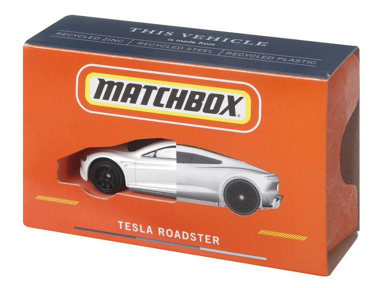 THIS TESLA ROADSTER WILL MAKE ITS WAY TO CONSUMERS IN 2022. MATTEL