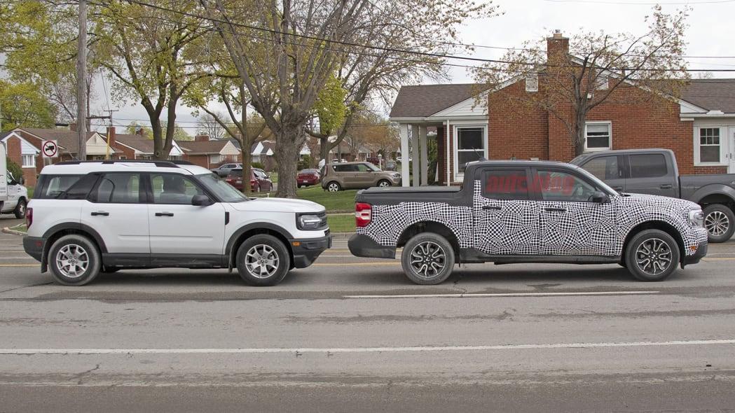 Ford Maverick and Bronco Sport Image Credit: KGP Photography