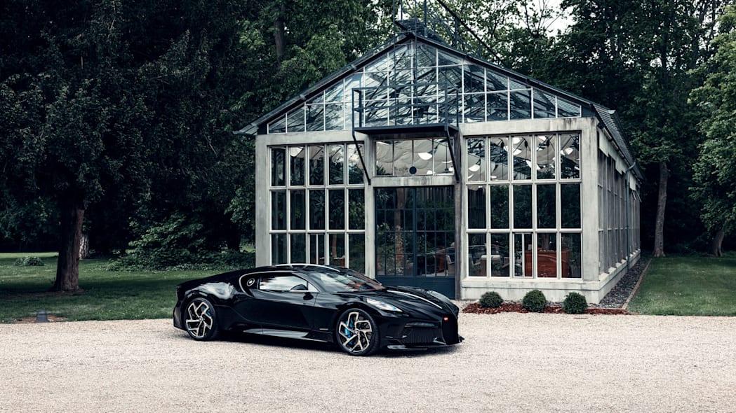 Bugatti La Voiture Noire, final version