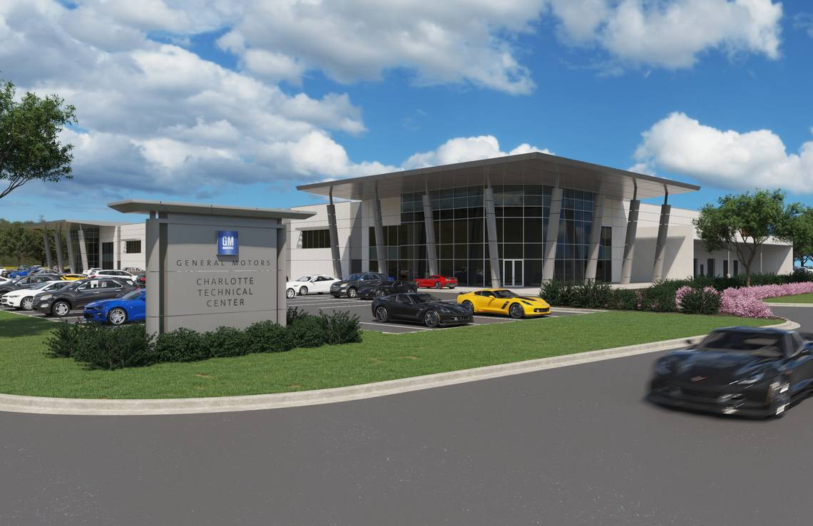 General Motors breaks ground on the new Charlotte Technical Center in Concord, North Carolina. This 130,000-square-foot facility will expand GM's performance and racing capabilities. GENERAL MOTORS