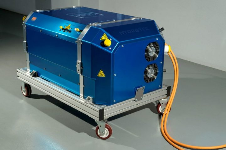 GM Hydrotec fuel cell cube
