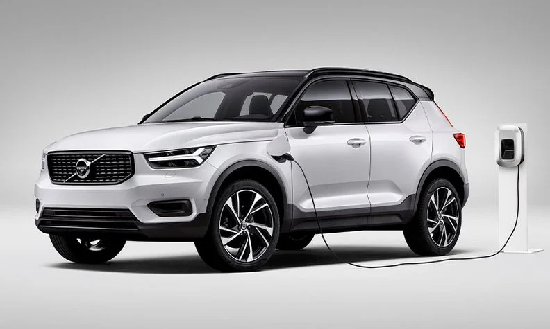 The Volvo XC40 Recharge plug-in hybrid. Volvo plans to end sales of internal combustion engine models by 2030.