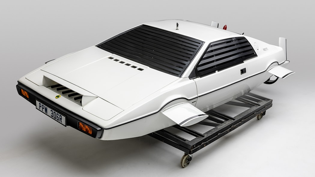 Lotus Esprit S1 Submarine from the Spy Who Loved Me Image Credit: Petersen Automotive Museum