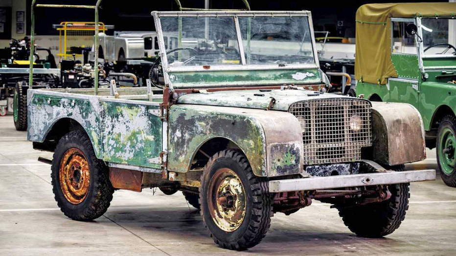 This Rediscovered 1948 Land Rover Was One Of The First 3 Made | RK ...