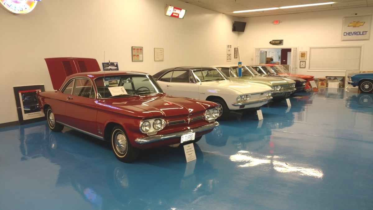 New Illinois museum honors the Chevrolet Corvair | RK Motors Classic ...