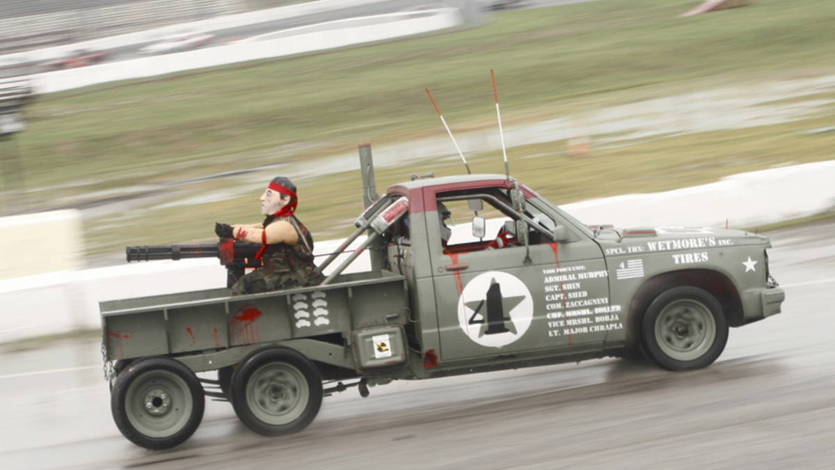 24 Hours of LeMons sells out to The Man! | RK Motors ...