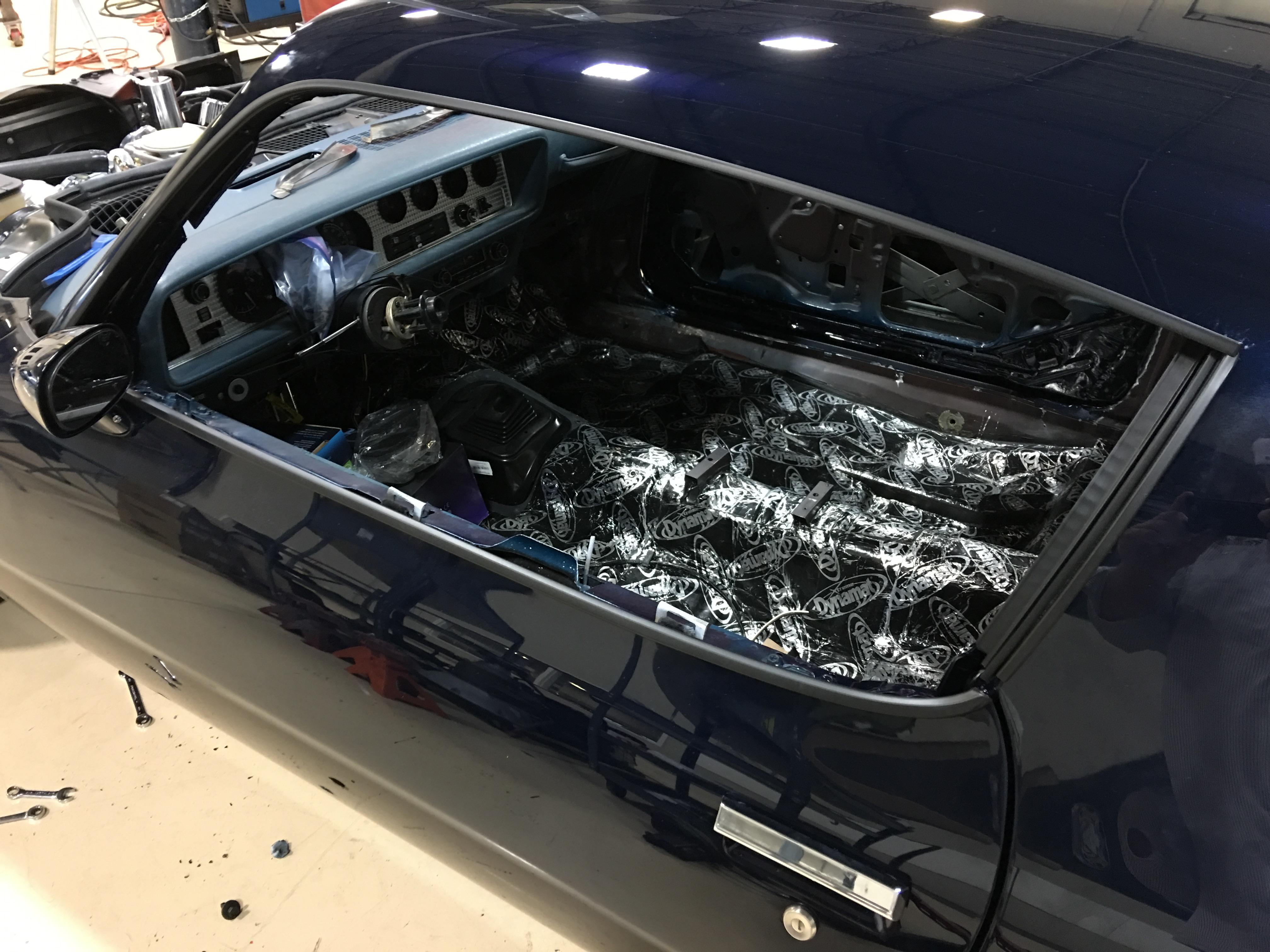 1975 Pontiac Trans Am Build - Assembly | RK Motors Classic