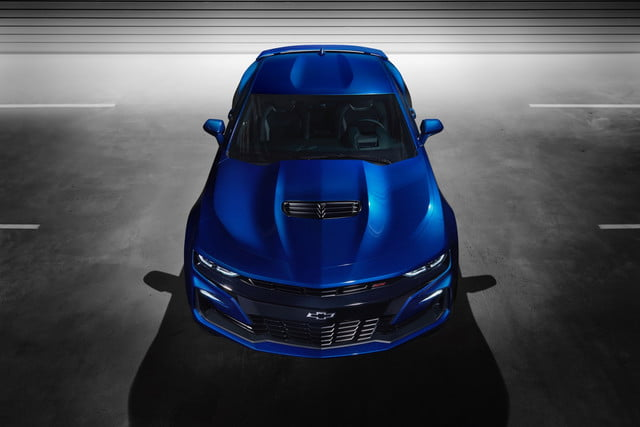 The 2019 Chevrolet Camaro Sports A New Face And More Tech