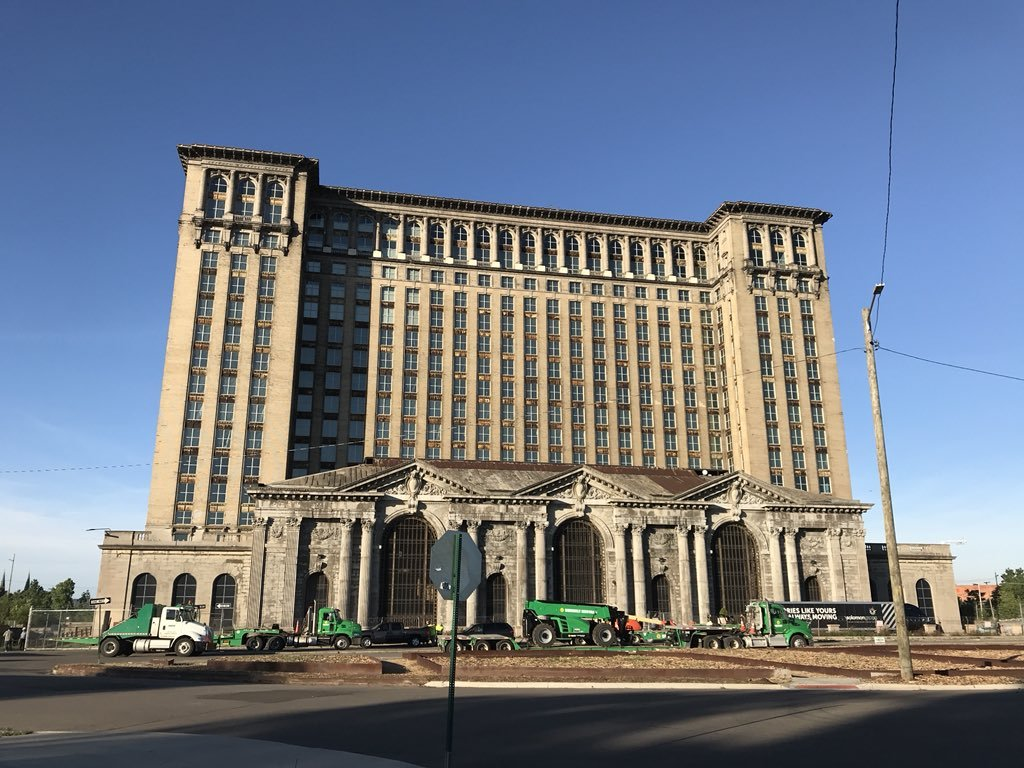 Ford Motor Co. is planning an event June 19 at Michigan Central Station in Detroit to detail its plans for the old train station and surrounding area. (Kirk Pinho of Crain's Detroit Business)
