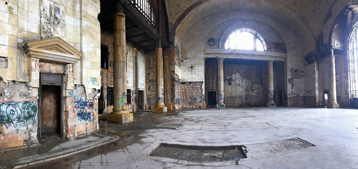 Rehabilitating the decrepit Michigan Central Station in Detroit is expected to be a massive and costly undertaking after the depot has sat vacant since 1988. (Chad Livengood, Crain's Detroit Business)
